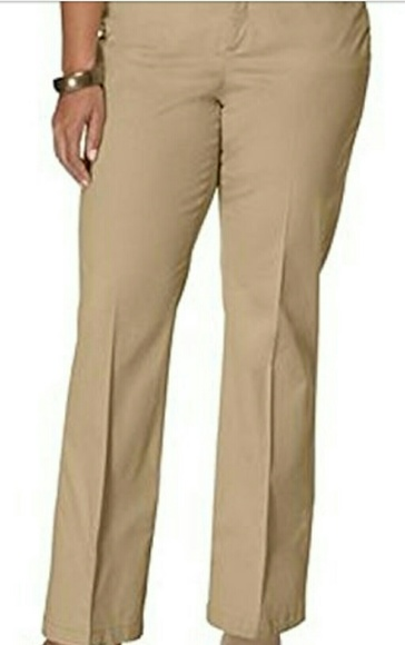3477f7ce332a0 JM Collection Pants - JM   Macys size 16 trouser plus size khaki